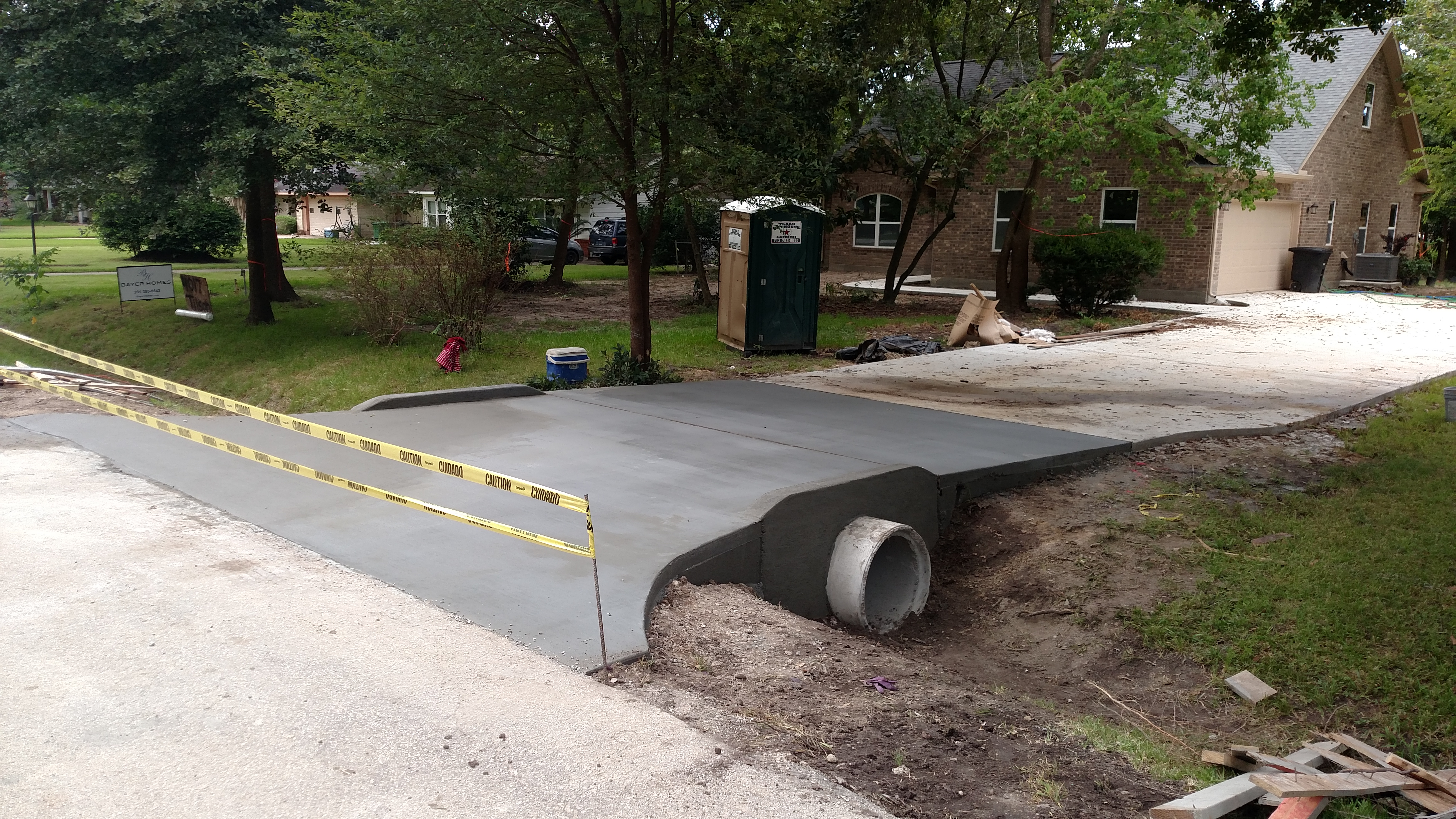 elite excavation driveway