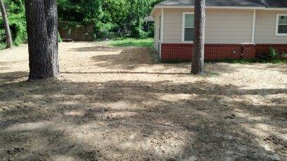 yard grading houston