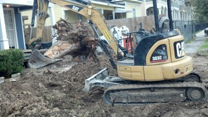 stump removal houston