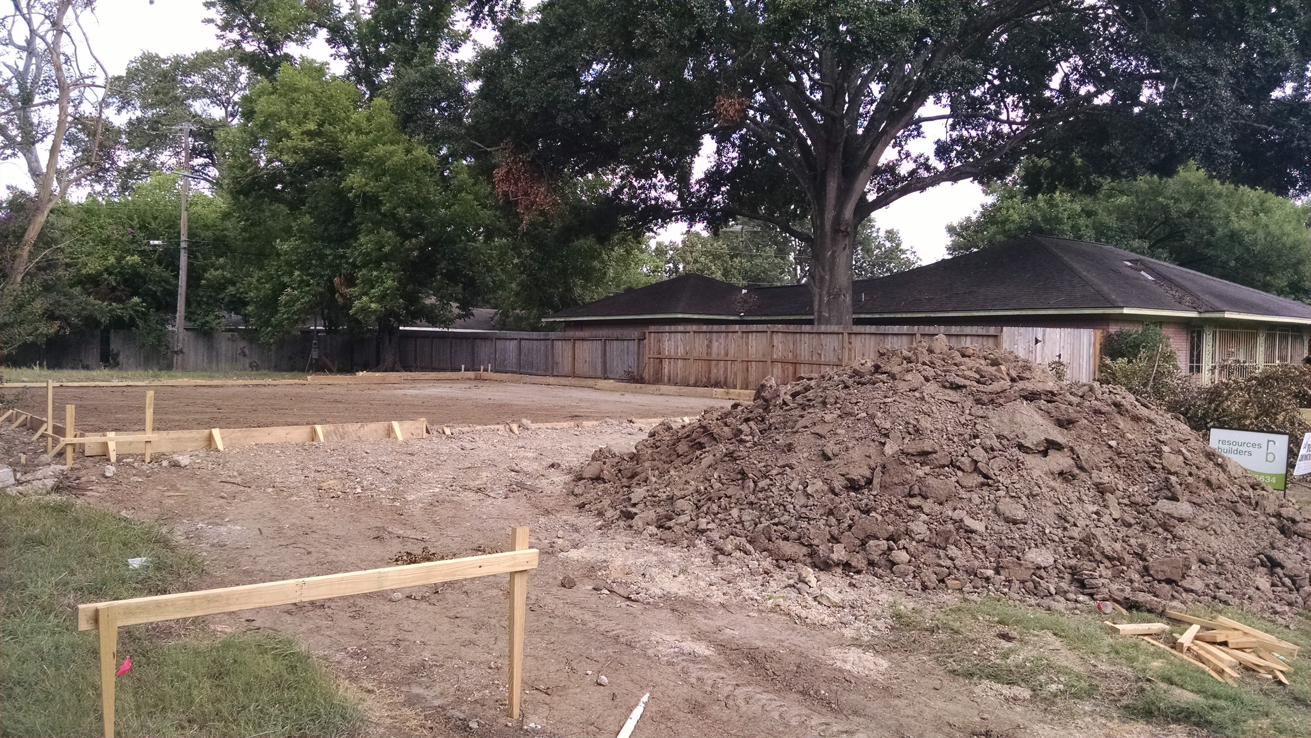 House pad grading houston